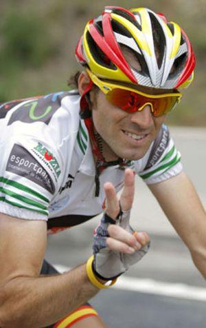 Valverde aprovecha el marcaje Evans-Contador para tomar el mando en la Dauphiné Libéré