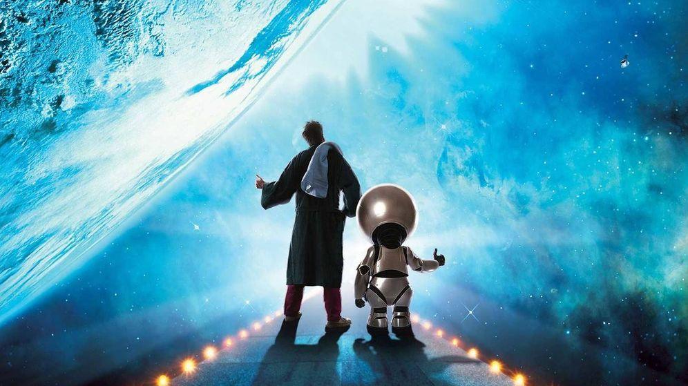 Foto: Imagen promocional de la adaptación televisiva de la Guía del autoestopista galáctico que prepara Disney
