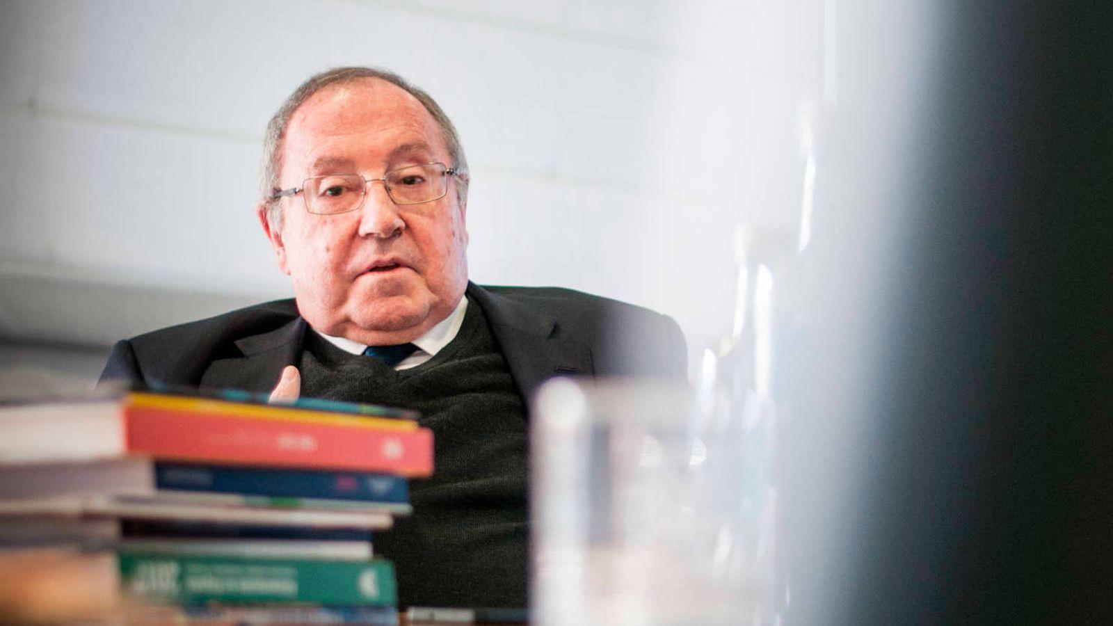 Foto:  El presidente de Freixenet y de la Cámara de Comercio, José Luis Bonet. (Carmen Castellón)