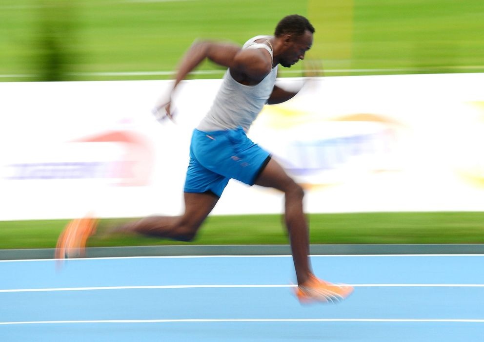 Foto: Usain Bolt durante una carrera (EFE)