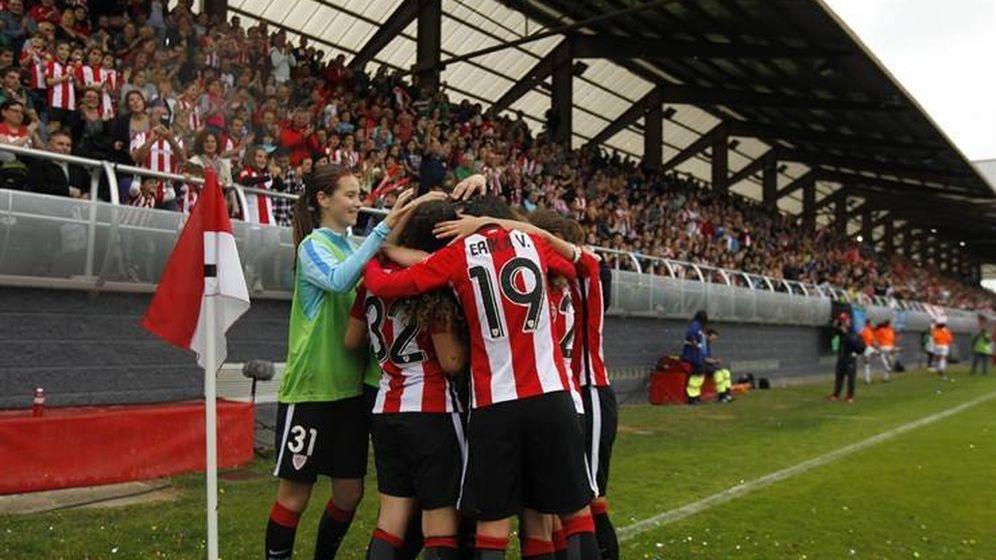 Foto: El Athletic acaba con el dominio del Barça (Foto: Athletic Club)