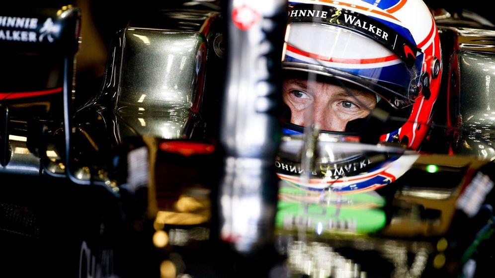 Foto: Jenson Button finalizó en una 'engañosa' decimocuarta posición.