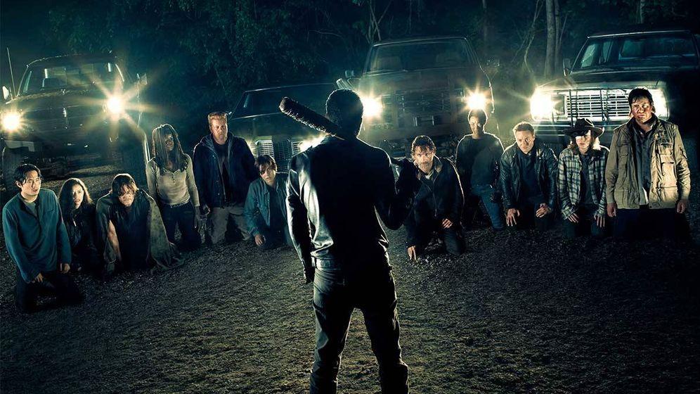Foto: Imagen del primer capítulo de la séptima temporada de 'The Walking Dead'.