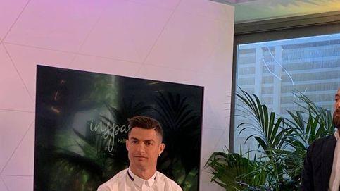 Esto es lo que ha escondido hoy Cristiano Ronaldo a las cámaras en su clínica capilar