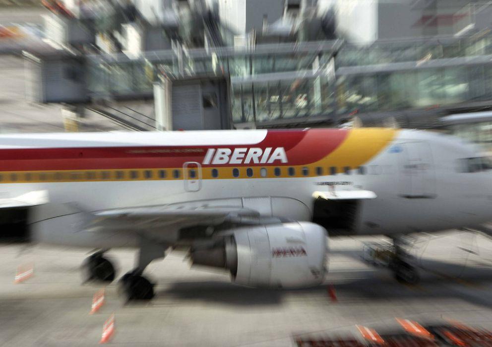 Foto: Iberia renueva su logo.