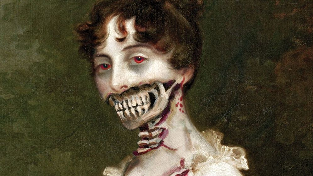 Foto: Detalle de la portada de 'Orgullo, prejuicio y zombies'