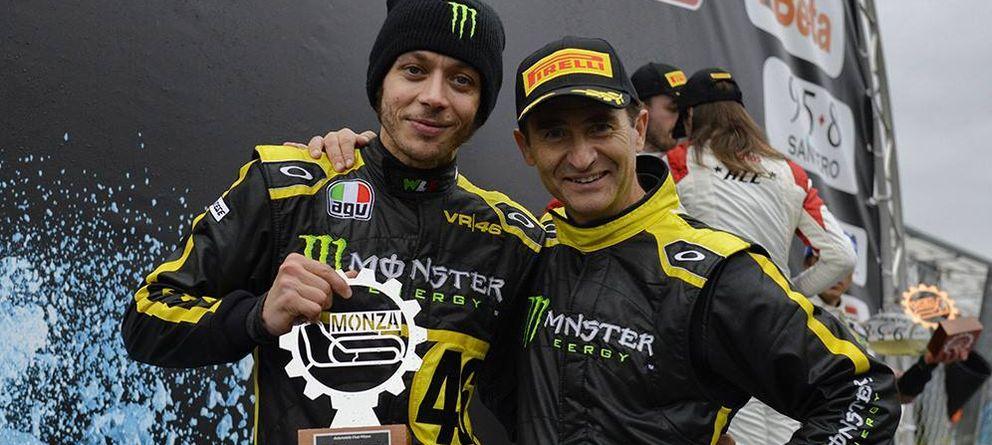 Foto: Valentino Rossi, segundo en el Monza Rallye Show (VR46).