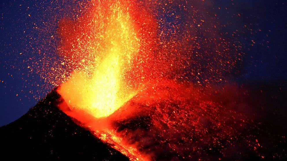 La última erupción del Etna, el volcán más activo de Europa