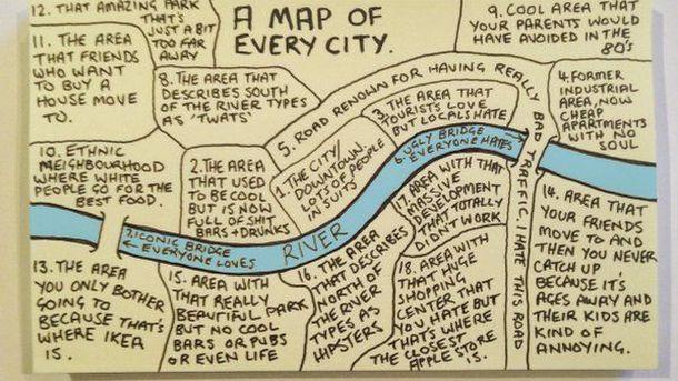 Foto: El mapa que se adapta a todas las ciudades. (EC)