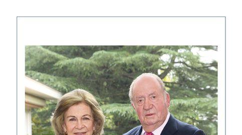 Los reyes Juan Carlos y Sofía, juntos de nuevo en la felicitación navideña