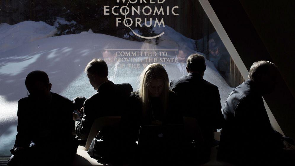 Foto: Reunión anual del Foro Económico Mundial en la localidad suiza de Davos. (Reuters)