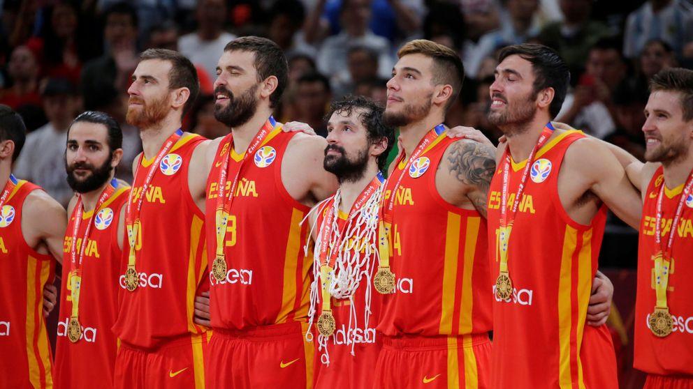Ganar el Mundial de básquet es muy difícil. Comprar la camiseta de España es imposible