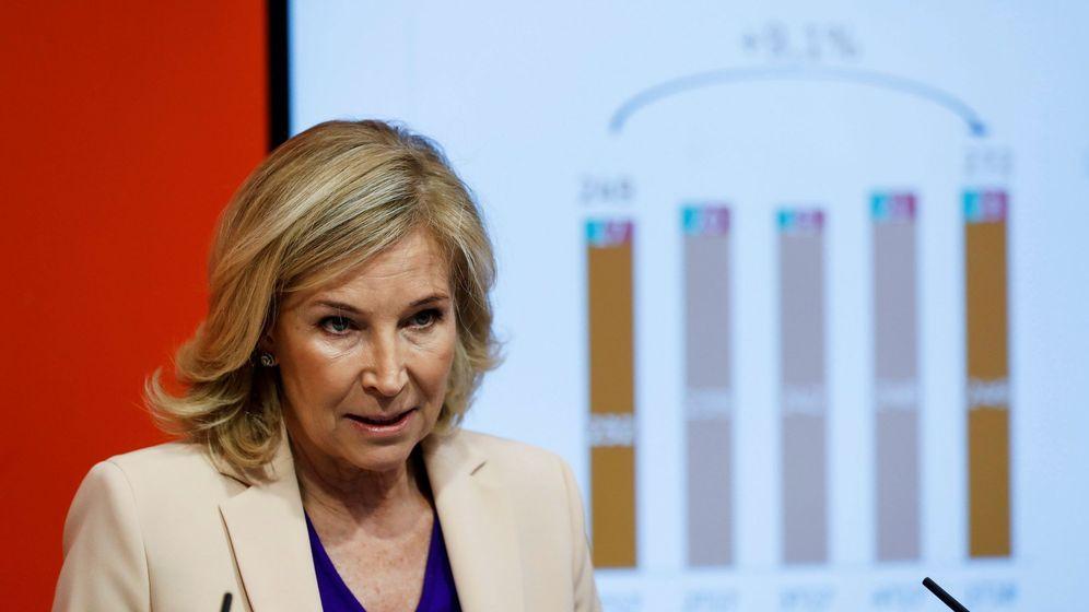 Foto: María Dolores Dancausa, consejera delegada de Bankinter. (Efe)