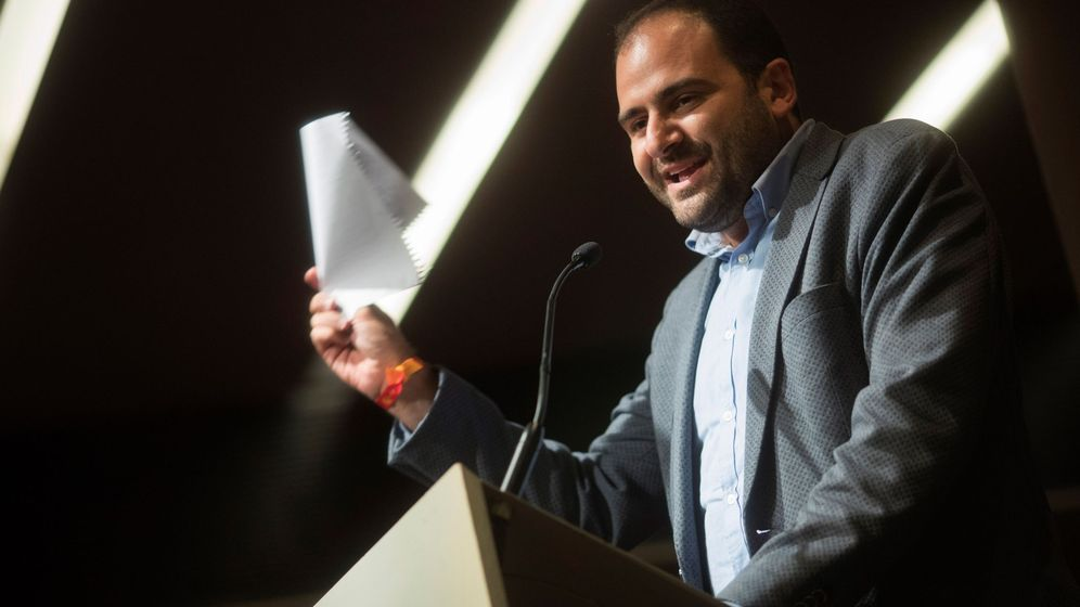 Foto:  Fernando Sánchez Costa, presidente de Societat Civil Catalana. (EFE)