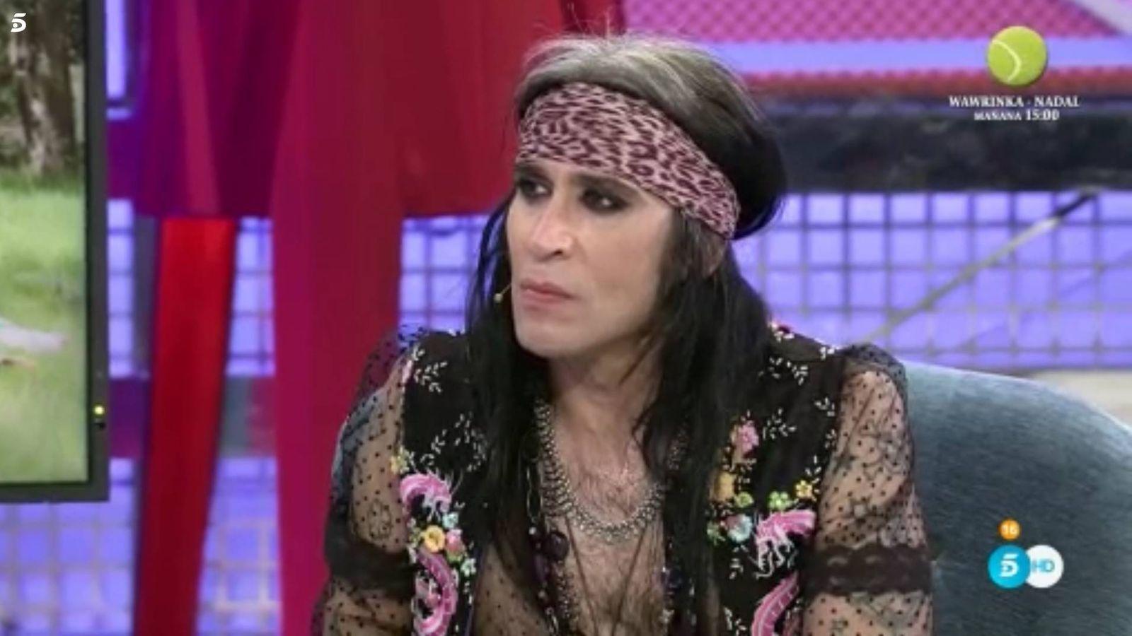 Foto: Mario Vaquerizo en 'Sábado deluxe'.