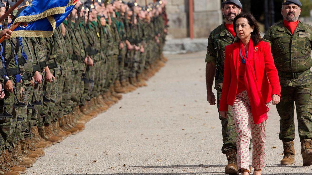 Foto: La ministra de Defensa en funciones, Margarita Robles. (EFE)