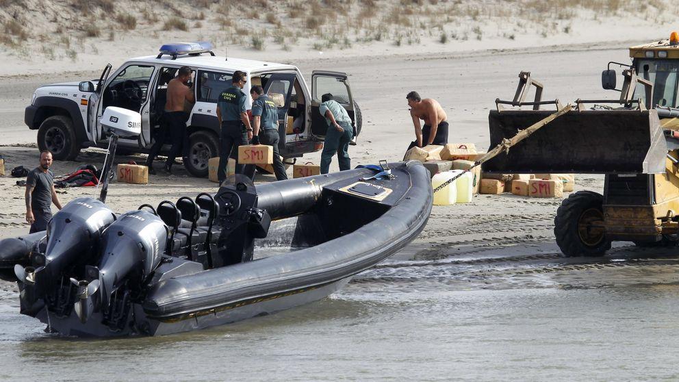 Las estacas antinarcos siguen pendientes en 'el río del hachís'