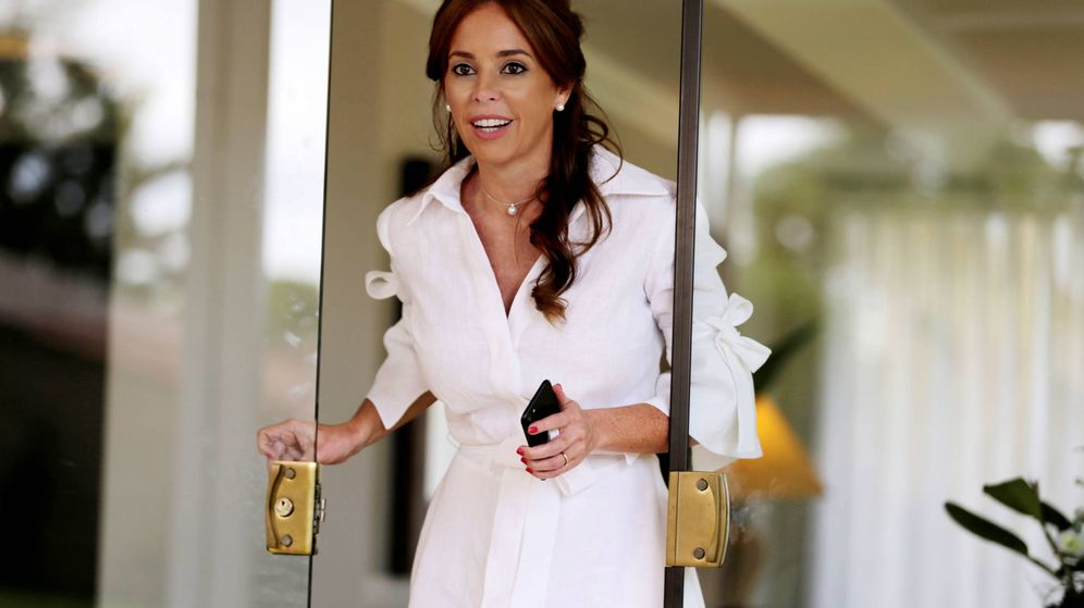 Foto: Silvana López, primera dama de Paraguay. (Reuters)