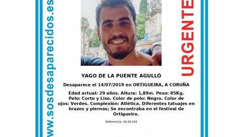 El cadáver hallado en Cerdido se corresponde al 100% con Yago de la Puente, desaparecido en Ortigueira en 2019