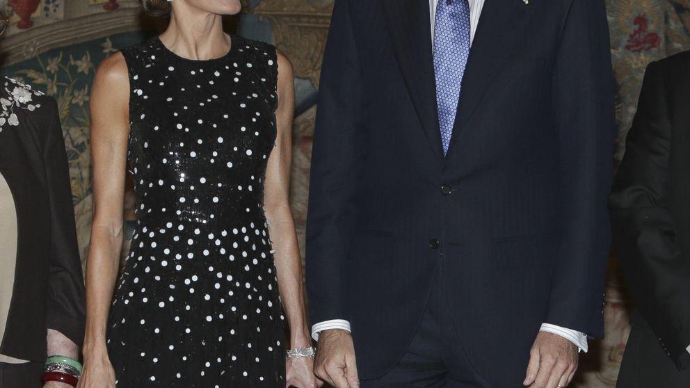Don Felipe y doña Letizia reciben al presidente de Israel y su mujer en visita de Estado