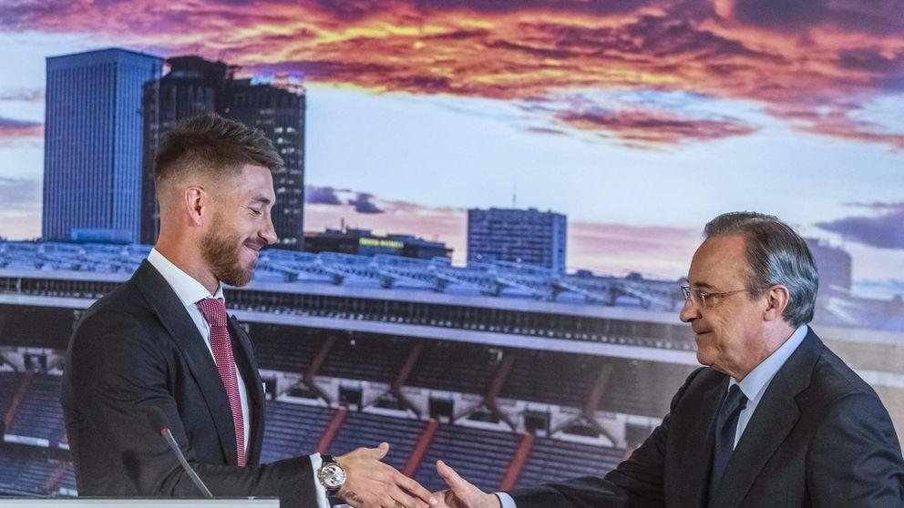 Ramos, renovación triunfal que deja daños colaterales y a Florentino herido