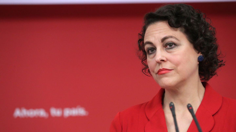 Magdalena Valerio, ministra de Trabajo.