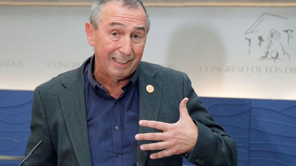 Foto: El portavoz de Compromís en el Congreso, Joan Baldoví. (EFE)