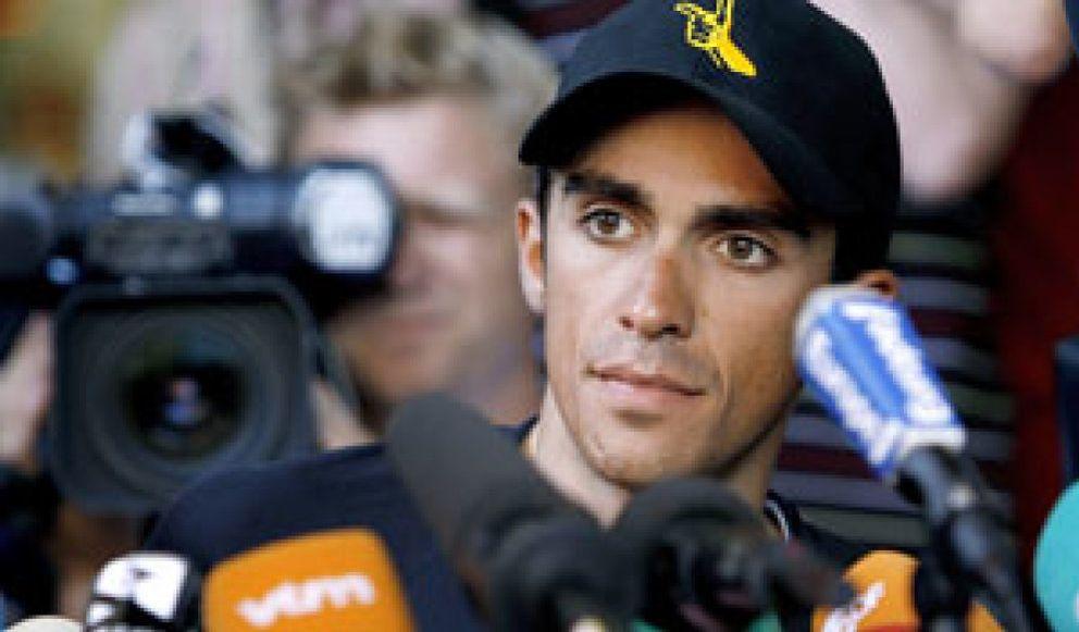 Foto: Contador alabó a Armstrong y Bruyneel se marchará del Astana