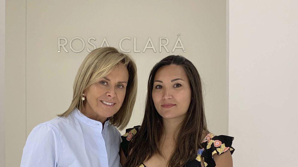 Foto: Rosa Clará y Marie Chevallier. (Foto cedida por Rosa Clará)