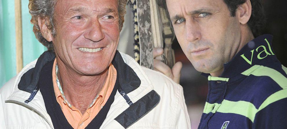 Foto: Los jinetes Luis Astolfi y Álvaro Muñoz Escassi, hermanos de los implicados en una trama por estafa (Gtres)