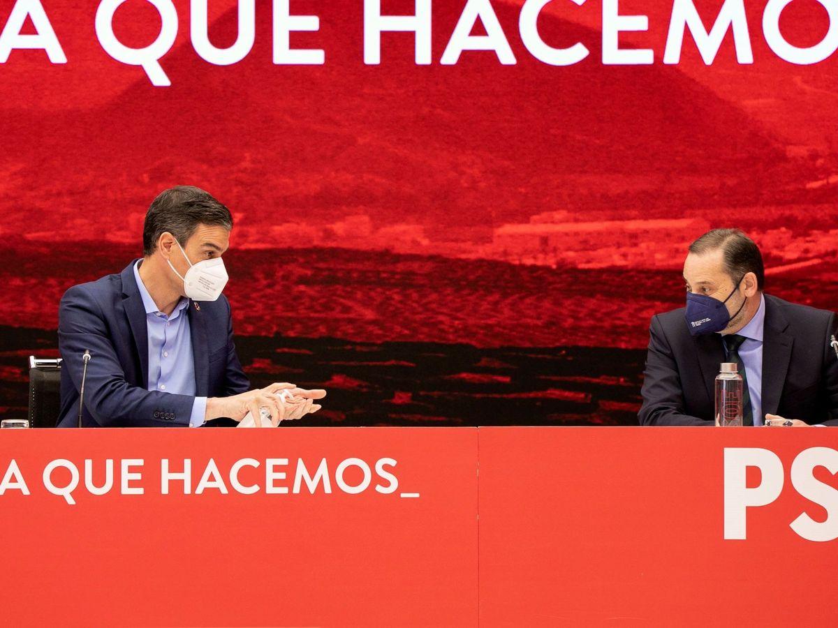 Foto: Pedro Sánchez y José Luis Ábalos, en una imagen de archivo. (EFE)