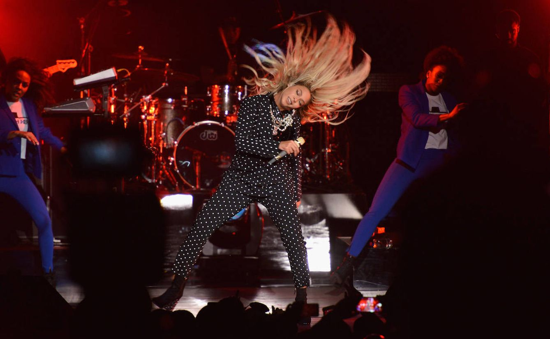 Beyoncé en concierto (Getty)