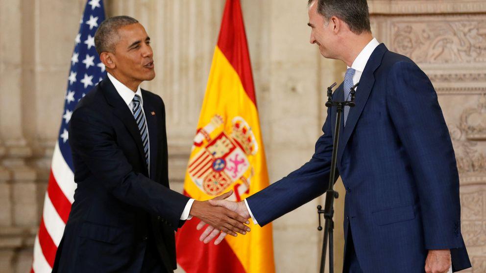 Obama y Felipe VI sellan la gran alianza entre España y EEUU en el Palacio Real