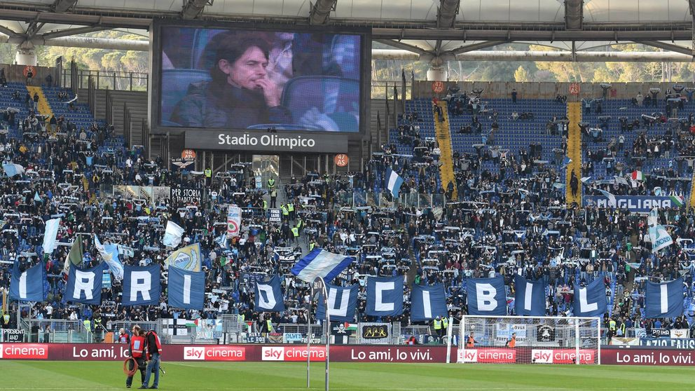 Adiós a los 'Irriducibili': los ultras de la Lazio se disuelven (y renombran) tras 33 años