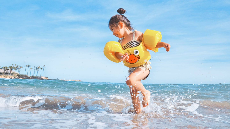 ¿Cuál es la correcta protección solar de un niño? (Unsplash)