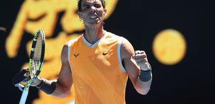 Post de Rafa Nadal cumple ante Duckworth en su debut en el Open de Australia