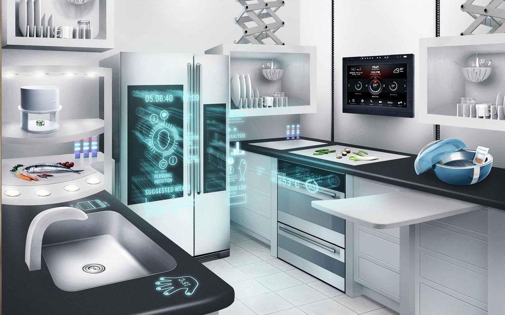 Resultado de imagen de interior casas futuro