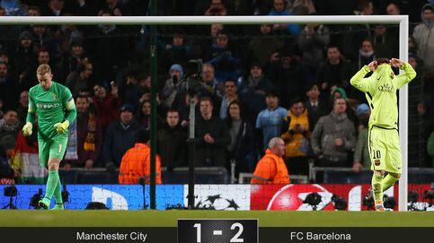 Messi perdona la vida a un City que le regaló 45 minutos al Barcelona