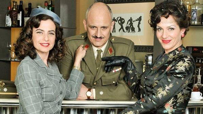 Lola Baldrich en 'Amar en tiempos revueltos'. (Atresmedia)