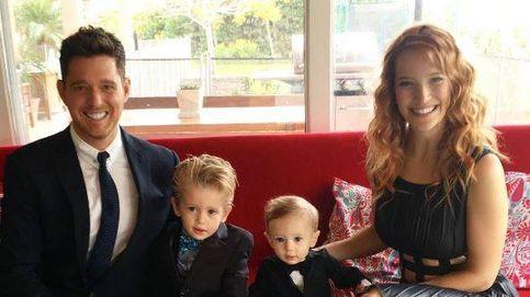 El hijo de Michael Bublé responde al tratamiento y estará en casa en Navidad
