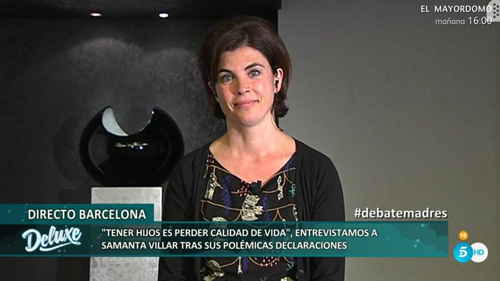 Samanta Villar: La maternidad destruye tu vida de la noche a la mañana