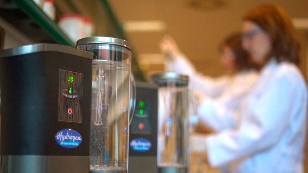 Foto: Máquina de agua hidrogenada en casa