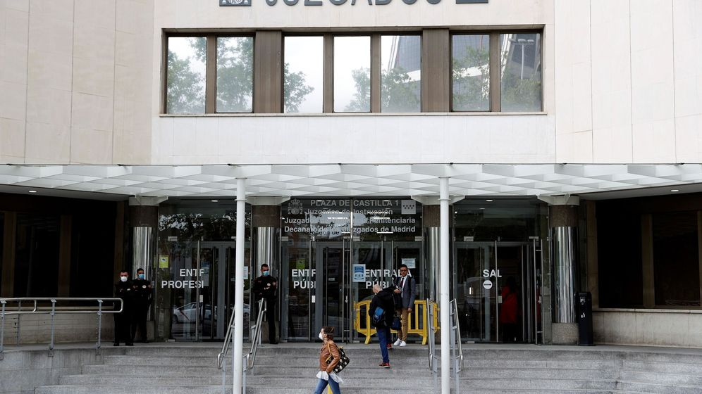 Foto: Juzgados de Plaza de Castilla, Madrid. (EFE)