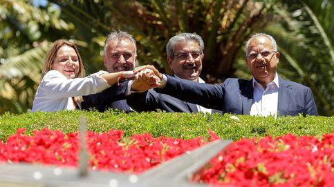 La izquierda presenta el 'pacto de las flores' en Canarias pero sin estructura de Gobierno