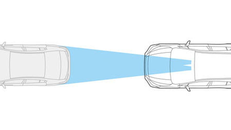Los nuevos sistemas de seguridad controlan la distancia con otro vehículo. (Subaru)