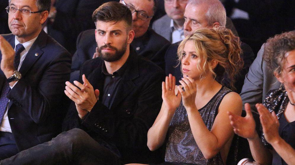Foto: Gerard Piqué y Shakira, en Barcelona. (Gtres)