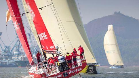 El Mapfre da otro espectacular recital y recupera el liderato de la Volvo Ocean Race