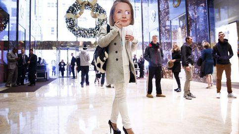 Hillary se cuela en la torre Trump