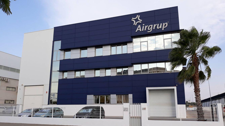 Foto: Sede de Airgrup en el parque Aerópolis de Sevilla. (C. P.)