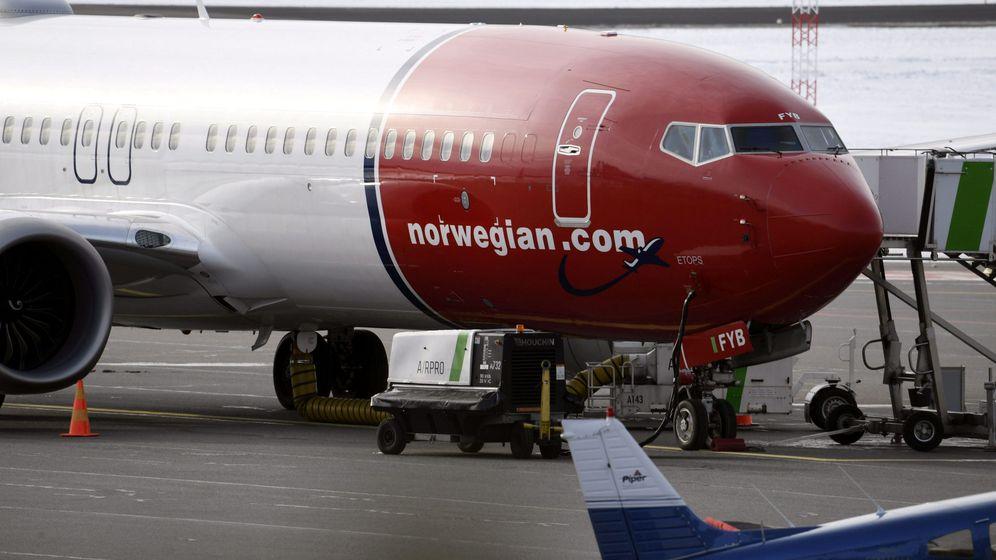 Foto: Boeing 737 MAX 8 de Norwegian. (Reuteres)